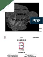 CFM 56-5B engine