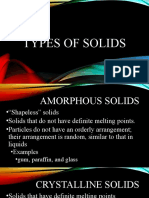 3. Types of Solids