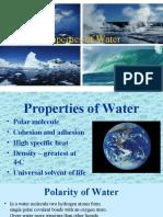 2. Properties of Water