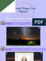 Microsoft Teams User Manual