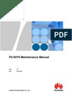 HUAWEI Ascend P2-6070 Maintenance Manual