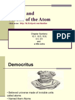 Atomic model History