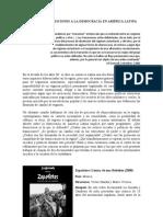 Ciclo transiciones a la democracia en América Latina