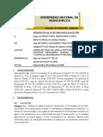 OPINION LEGAL Nº 027-2015-RAVD-OAJ-R-UNH SOBRE RECURSO DE APELACION MEMORANDO N° 953-2014-R-UNH 2015