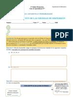 Guía 7 - 3EM   APLICACIÓN DE LAS MEDIDAS DE DISPERSIÓN