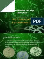 1 Generalidades Spirulina