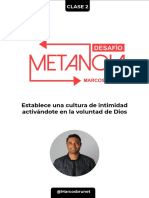 CLASE 2 - Tarea Desafio Metanoia