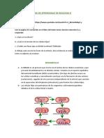 GUIA DE APRENDIZAJE DE BIOLOGIA 6 EVIDENCIA DESARROLLADA