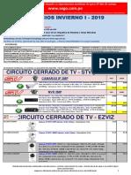 Lista de precios INVIERNO 1 2019 CCTV NO DPP