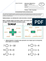 Guía  Matemáticas Segundo Básico