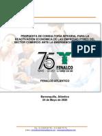 Propuesta Reactivación PYMES COMERCIO 24-05-2020