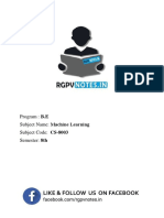 Unit 2 - Machine Learning - www.rgpvnotes.in.pdf