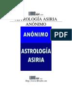 Anonimo - Astrologia asiria