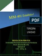 Estadística unidad III