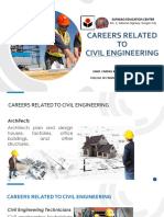 3. Careers Related TO CIVIL ENGINEERING