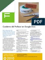 Instrucciones del Cuaderno del Profesor-2010