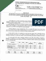 CA -SNTFC-17.01.2011 - Reorganizare si redresare economico-financiara