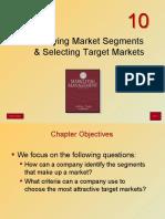 Segmentation and Targeting of Marketing