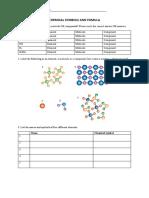 CHEMICAL SYMBOLS AND FORMULA
