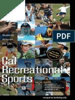 Cal Rec Sports Spring 2011