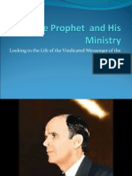 The Prophet  and His Ministry.ppt