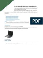 Guía de referencia a los indicadores de diagnósticos móviles Precision _ Dell Perú