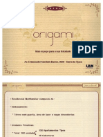 Residencial Origami - PDG/CHL - tel. 55 (21) 7900-8000