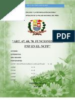 Art. 67, 68, 70 FUNCIONES DE LA PNP EN EL NUEVO CÓDIGO PROCESAL PENAL.docx