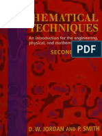 Mathematical techniques  an introduction for the engineering, ph.pdf