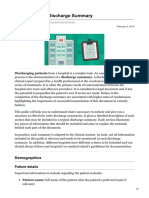 geekymedics.com-How to Write a Discharge Summary