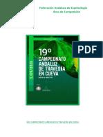 XIX Campeonato Andaluz Travesía 2020