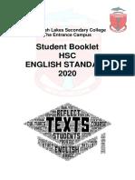 2020 Standard HSC Course Booklet
