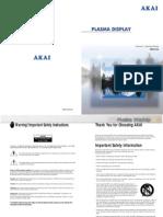 Manual AKAI PDP4294