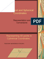 Cylindrical and Spherical Coordinates.ppt