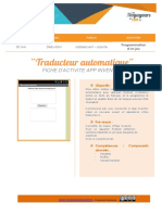 AppInventor traducteur automatique
