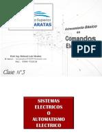 Clase 3 y 4. Comandos Eléctricos.