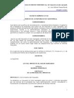 Ley del Impuesto al Valor Agregado IVA (v) DN 27-92