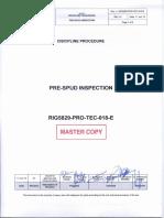Pre-Spud Inspection