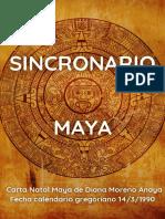 Sincronario Maya Aguila Resonante Azul