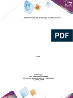 Taller 4 - Comprensión y producción del discurso argumentativo (2) actual