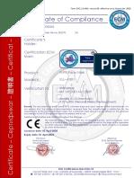 6641_Mascarilla de Seguridad KN95 Bler_Certificate