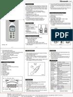 sonomètre numérique GM1357