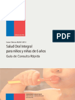 salud oral para niños de 6 años