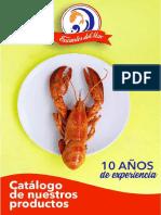 Catálogo Pescadería Encantos del Mar