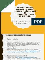 formatação, citações e referenciação em TFM