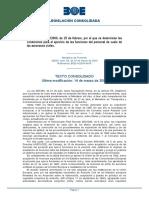 BOE 270-2000-condiciones para ejercicio de funciones de personal de vuelo civil