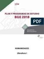 SEM5 plan para Humanidades