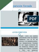 diapositivas penal- desaparicion forzada