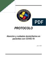 Protocolo Cuidado Domicilario COVID-19