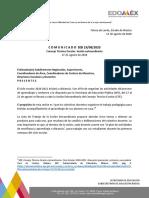 CTE Comunicado Subsecretaría de Educación Básica del Estado de México
